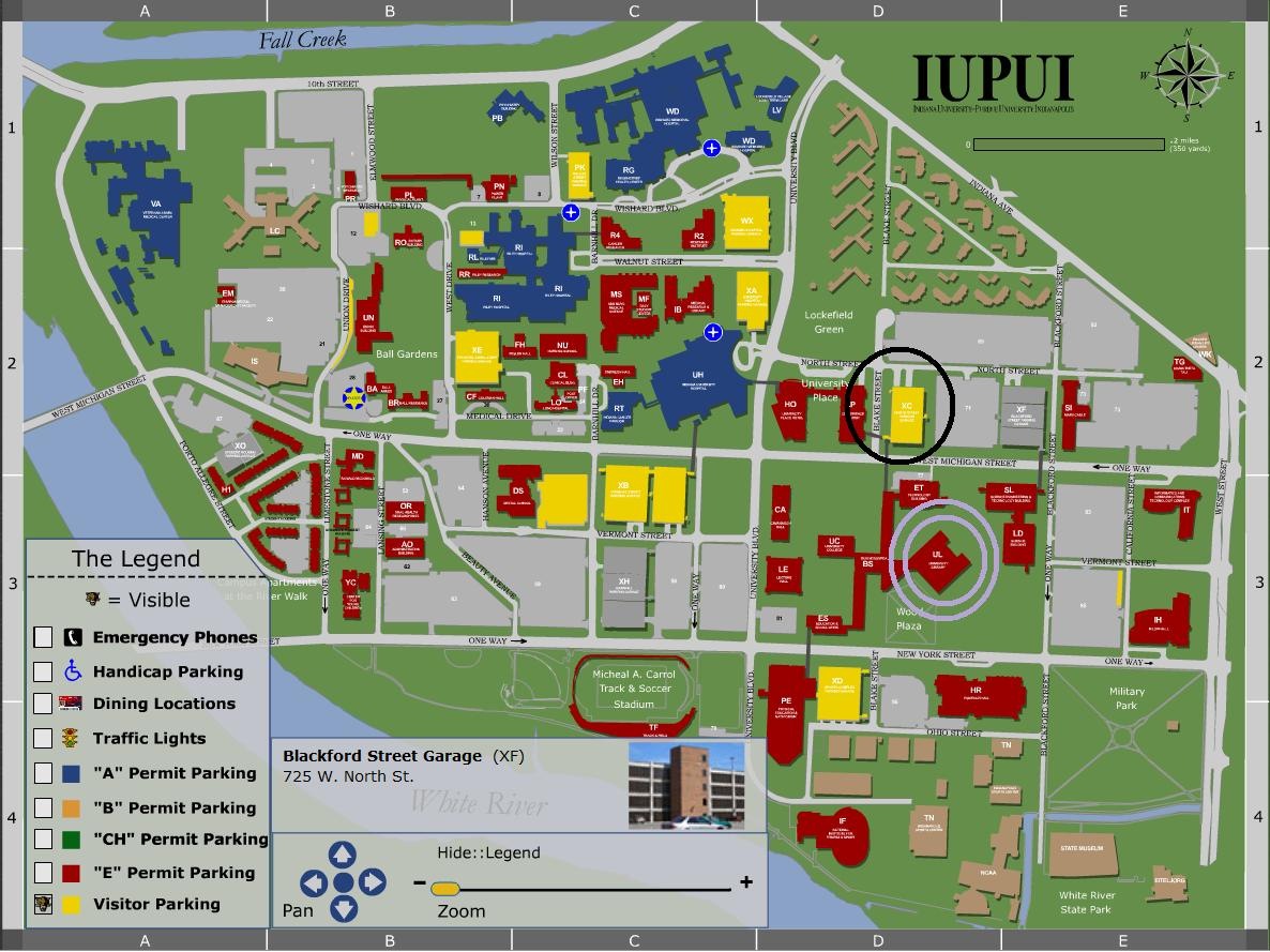 Iupui Campus Map